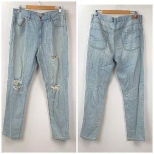 American Eagle Distressed Vintage Hi-Rise Jeans